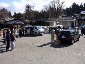 東日本大震災支援物資搬送活動 震災復興支援