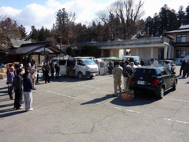 富山県神道青年会 ブログ東日本大震災支援物資搬送活動