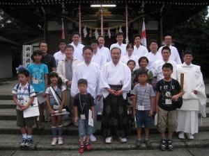 第2回富山県神道少年団~七夕の集い 神道少年団 七夕