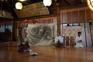 東日本大震災復興祈願「本吉太々法印神楽」奉納 震災復興支援
