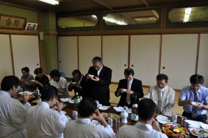 富山県神道青年会創建65周年 献穀田 抜穂祭 献穀田