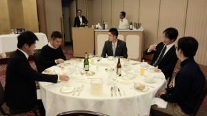 霜月一六会 テーブルマナー研修会を開催